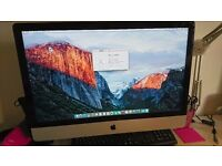 iMac 27'' - Slim - Late 2012 - 3.2GHz - 8 GB 1TB Video 1GB