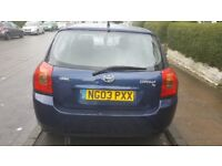5 door dark blue very good condition looking for a wuick sale