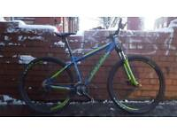 carrera hellcat limited edition 18 inch frame 24 speed 29 inch wheels bike