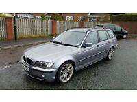 faultless 2004 bmw 320d es estate touring full service history full mot perfect throughout