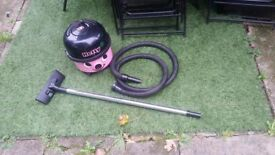 Numatic Hetty Bagged Vacuum Cleaner Hoover 2 Speed 1200W 600W HET 200A Pink