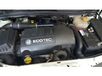VAUXHALL ASTRA 1.3CDTI 2007 COMPLETE ENGINE + GEARBOX