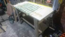 Solid wooden workbench for free!