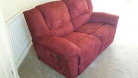 Sofa and chair - reclining