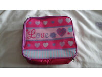 girls lunch box ideal for school or nursery or just days out