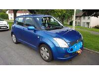 Blue Suzuki Swift - 57 Plate - 5 Door