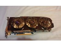 4GB Nvidia (Gigabyte) GeForce GTX 670. Fully working.