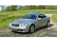 Mercedes CL500 V8, LPG, 7 Speed auto sports coupe, facelift, 2004