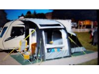 Kampa rally pro air awning with annex