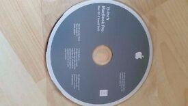 Genuine Apple 15 inch MacBook Pro Mac OS X 10.6.3 Install DVD, Working!