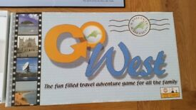 Limited Edition, Collectable & of Local Interest - Go West - Board Game - Excellent cond.