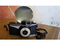 Vintage 1950's AGILUX AGI flash camera with Flash Unit and Case