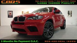 2011 BMW X6 M 555 HP | Navigation | Sunroof | Bluetooth |