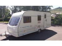 Great clean 4/5 berth family caravan for sale comes all ready to use ( must sell by this weekend )