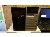 Various PCs for spares or repair