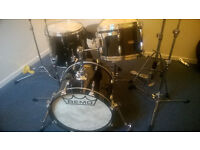 Rare Remo Gold Crown Bebop Kit in Black Lacquer