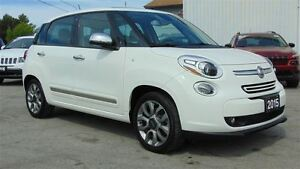 2015 Fiat 500L LOUNGE - LEATHER - NAV - SUNROOF- CAMERA