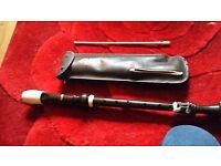 Aulos tenor 211 recorder as new in case