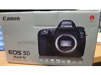 Canon 5d Mk4 Brand new unused as seen in pictures