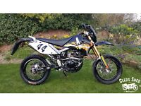 Pulse Adrenaline 125, 12 Months Mot, 1,800 (low) miles, Free delivery & Warranty