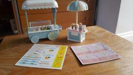Sylvanian Families mini shops/stalls etc