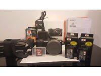 Sony Alpha A5000 20.1MP Digital Camera, 16GB SD Card 90 MB/s, 2 NEW Batteries.