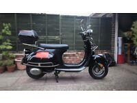 AJS Modeana 125cc (Black)