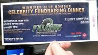 Wpg blue bomber fundraising dinner tickets