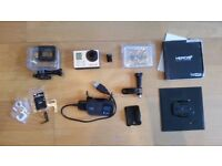 Go Pro Hero 3+ Black inc. PeauProd 5.4mm lens (35mm equiv)