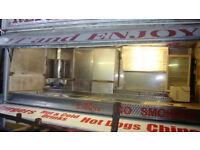 showmans catering trailer burger van 12 foot twin side hatch in need of repair