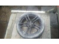 18 inch audi 5 stud alloy wheels