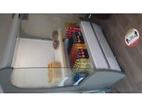 1.9m tall commercial display fridges