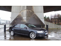 2008 58 AUDI A6 TDI AUTO 2.0 DIESEL BLACK FULL SERVICE RECORDS(CHEAPER PART EX WELCOME)