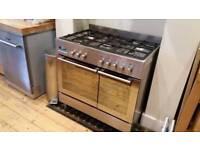 Baumatic range gas cooker 5 burner