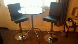 Black Granit table and seats