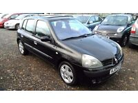 Renault Clio 1.6 16v Dynamique 5dr (a/c), 2 FORMER KEEPERS, HPI CLEAR, GOOD CONDITION, DRIVES SMOOTH