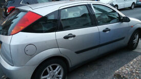 Ford Focus, spares and repairs, some dents, MOT ends 1 November 2018