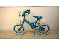 Childs Little Mermaid bike bicycle - suit year 3 to 5