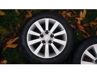 4 x Honda Civic Sport Alloy Wheels 205/55/R16 tyres. As New Tyres EXCELLENT CONDITION £49.99 Each