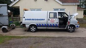 T4 EX AA TRANSPORTER RECOVERY TRUCK