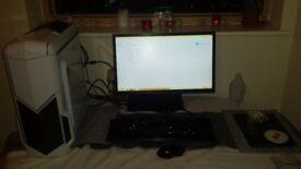 Custom Built Gaming PC intel 7 cpu 16gb sdram AMD Radeon R9 380