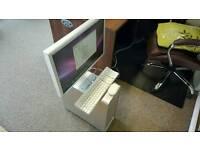 Mac G5 power pc pre intel with 21 inch monitor