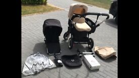 Bugaboo Donkey C/W:- Baby Carrycot, Seat For Baby/Toddler & Many Extras (Black Or Beige)