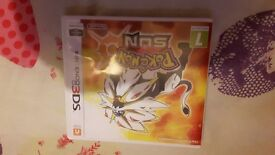 Pokemon sun ds game