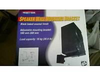 Speaker wall mounting brackets