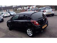 Vauxhall Corsa SXI Black 5 Door