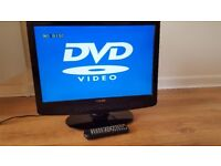 LCD HD TV with Freeview & DVD combo
