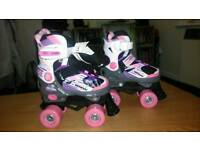 Brand new adjustable quad skates