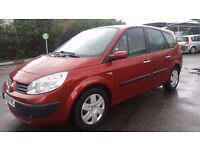 7 SEATER RENAULT GRAND SCENIC 1.5 DIESEL MANUAL IN TOP CONDITION. LONG MOT. FULL SERVICE HISTORY