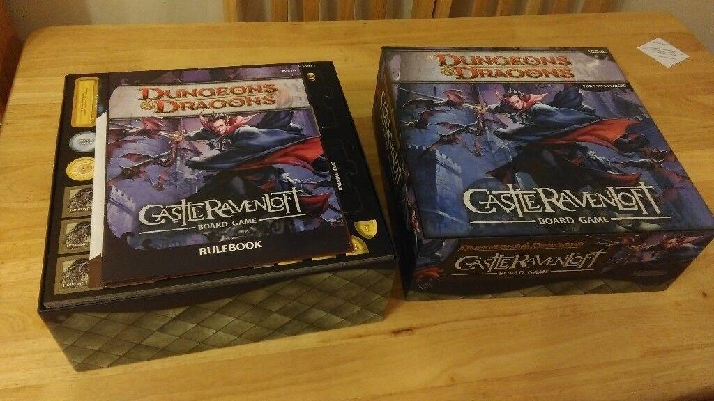 Dungeons & Dragons - Castle Ravenloft inc. lots of scenarios - In original Packaging Like New.